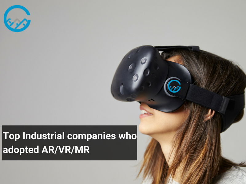 Industries adopted AR/VR/MR