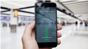 Gatwick Augmentation App helps in the airport looked to address the issue of navigating its large site by installing it in mobile. The new Gatwick passenger AR app won the mobile Innovation of the year award at the National Technology award recently.