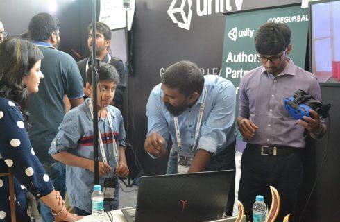 CHRP-INDIA VR Demo in CII
